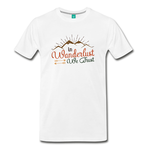 Men's Wanderlust T-Shirt - white