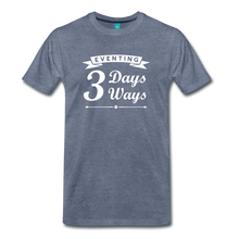Load image into Gallery viewer, Men's 3 Days 3 Ways T-Shirt - heather blue