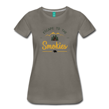 Load image into Gallery viewer, Women's Escape to the Smokies T-Shirt - asphalt