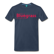 Load image into Gallery viewer, Men's Bluegrass Kinda Life T-Shirt - navy