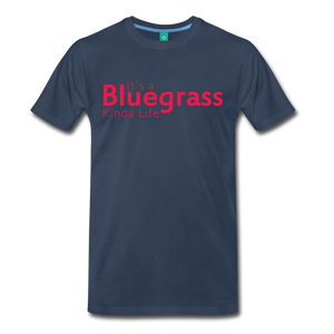 Men's Bluegrass Kinda Life T-Shirt - navy