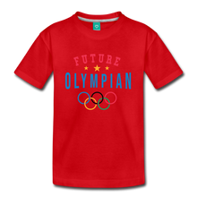 Load image into Gallery viewer, Kids' Future Olympian T-Shirt - red