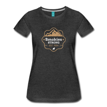 Load image into Gallery viewer, Women's Smokies Strong T-Shirt - charcoal gray