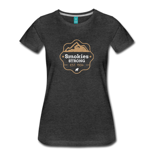 Women's Smokies Strong T-Shirt - charcoal gray