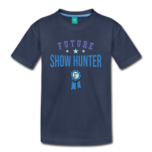 Load image into Gallery viewer, Kids' Future Show Hunter T-Shirt - navy