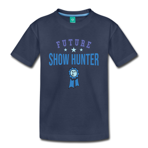 Kids' Future Show Hunter T-Shirt - navy