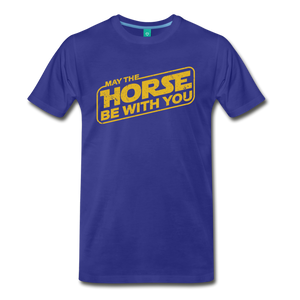 Men's May The Horse be with You T-Shirt - royal blue