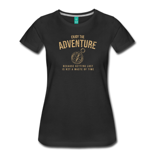 Women's Enjoy the Adventure T-Shirt - black
