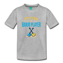 Load image into Gallery viewer, Kids' Future Banjo Player T-Shirt - heather gray