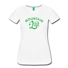 Load image into Gallery viewer, Women's Mountain Life (script) T-Shirt - white