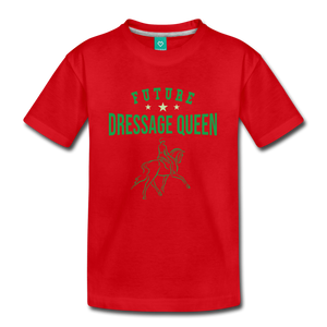 Kids' Future Dressage Queen T-Shirt - red