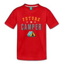 Load image into Gallery viewer, Kids' Future Camper T-Shirt - red