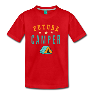 Kids' Future Camper T-Shirt - red