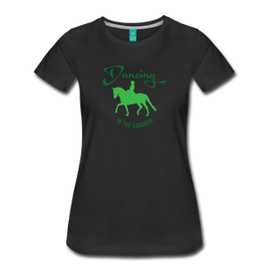 Women's Dancing in the Sandbox T-Shirt - black