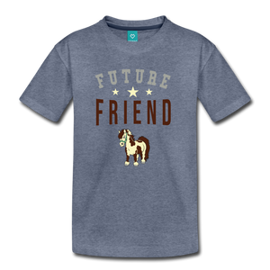 Kids' Future Friend T-Shirt - heather blue
