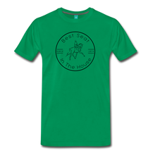 Load image into Gallery viewer, Men's Best Seat in the House T-Shirt - kelly green