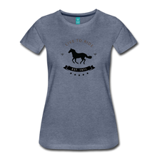 Load image into Gallery viewer, Women's Live to Ride T-Shirt - heather blue
