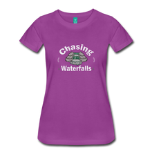 Load image into Gallery viewer, Women's Chasing Waterfalls T-Shirt - light purple
