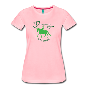 Women's Dancing in the Sandbox T-Shirt - pink