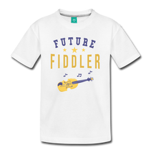 Load image into Gallery viewer, Kids' Future Fiddler T-Shirt - white