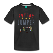 Load image into Gallery viewer, Kids' Future Jumper T-Shirt - black