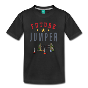 Kids' Future Jumper T-Shirt - black