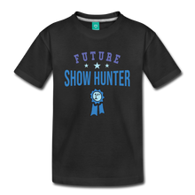 Load image into Gallery viewer, Kids' Future Show Hunter T-Shirt - black