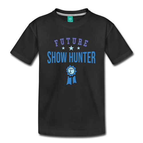 Kids' Future Show Hunter T-Shirt - black