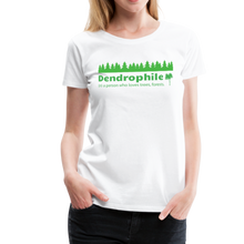 Load image into Gallery viewer, Women's Dendrophile T-Shirt - white