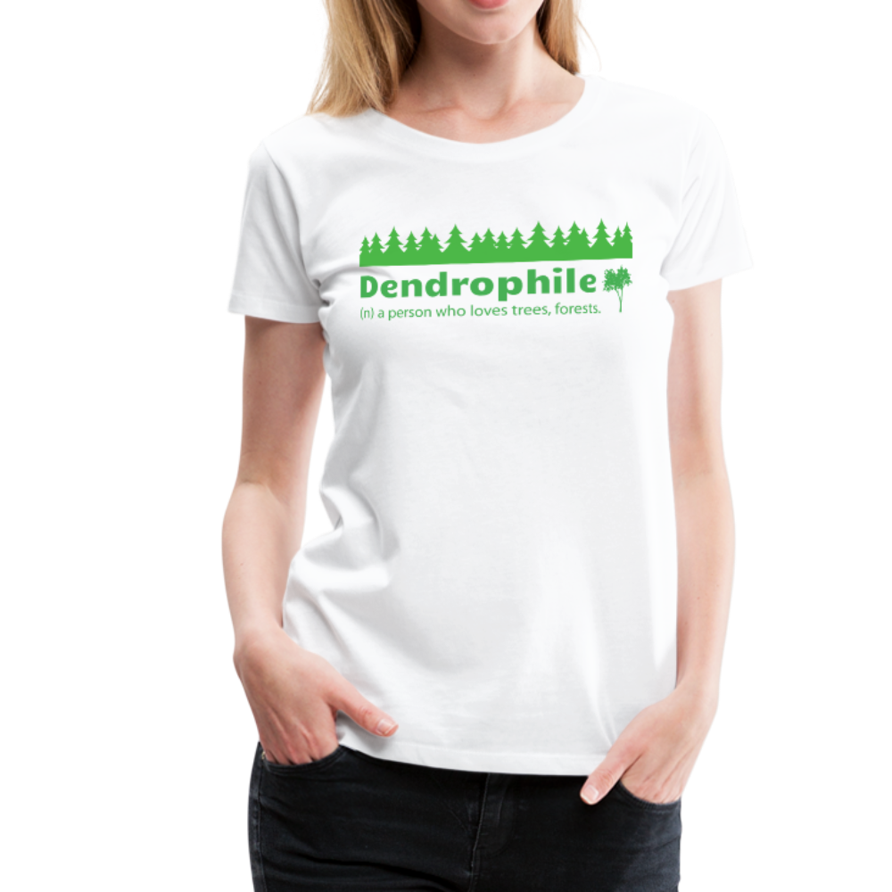 Women's Dendrophile T-Shirt - white