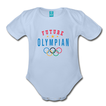 Load image into Gallery viewer, Future Olympian Baby Bodysuit - sky