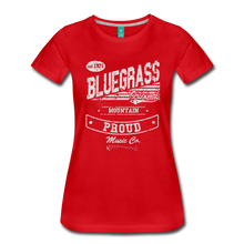 Load image into Gallery viewer, Women's Bluegrass Original T-Shirt - red