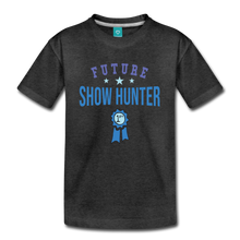 Load image into Gallery viewer, Kids' Future Show Hunter T-Shirt - charcoal gray