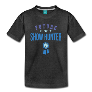 Kids' Future Show Hunter T-Shirt - charcoal gray