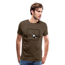 Load image into Gallery viewer, Men's Mandolin Icon T-Shirt - noble brown
