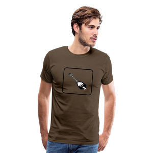 Men's Mandolin Icon T-Shirt - noble brown