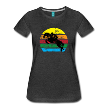 Load image into Gallery viewer, Women's Jumping Sun T-Shirt - charcoal gray