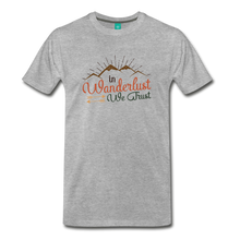 Load image into Gallery viewer, Men's Wanderlust T-Shirt - heather gray