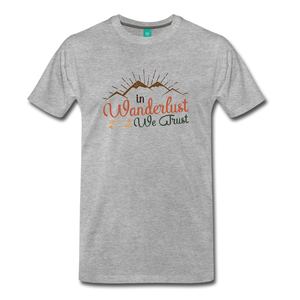 Men's Wanderlust T-Shirt - heather gray