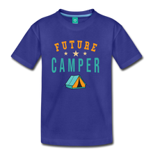 Load image into Gallery viewer, Kids' Future Camper T-Shirt - royal blue