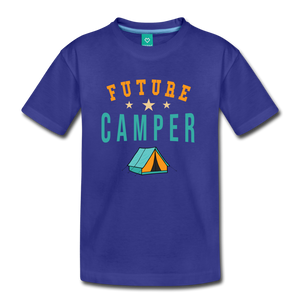 Kids' Future Camper T-Shirt - royal blue