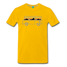 Load image into Gallery viewer, Men's Van Mountains T-Shirt - sun yellow