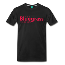 Load image into Gallery viewer, Men's Bluegrass Kinda Life T-Shirt - black