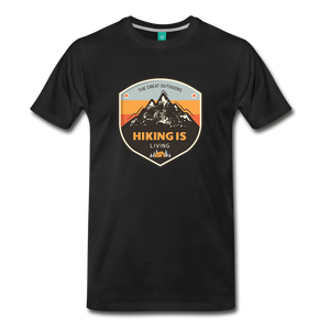 Men's Hiking T-Shirt - black