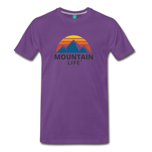 Load image into Gallery viewer, Mountain Life Shirt - purple