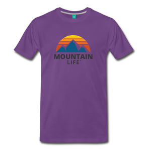 Mountain Life Shirt - purple