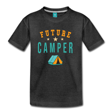 Load image into Gallery viewer, Kids' Future Camper T-Shirt - charcoal gray