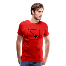 Load image into Gallery viewer, Men's Banjo Icon T-Shirt - red