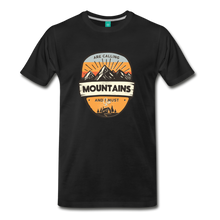 Load image into Gallery viewer, Men's Mountain's Calling T-Shirt - black