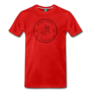 Men's Best Seat in the House T-Shirt - red